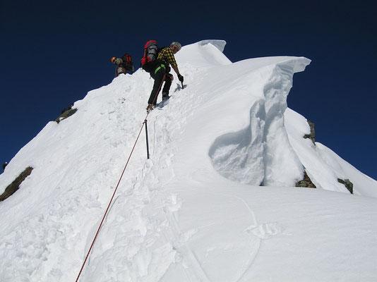 Gipfelzone des Kleinglockner