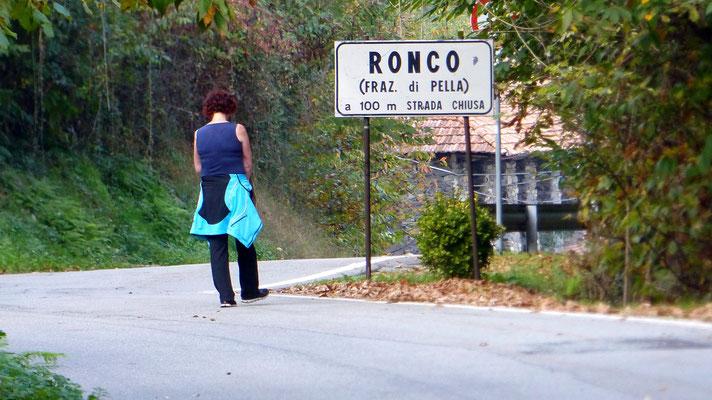 Zurück in Ronco inferiore