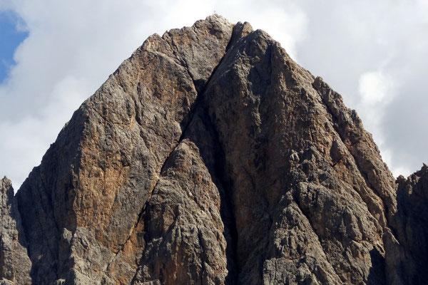 Gipfel des Sas Rigais - 3025 M