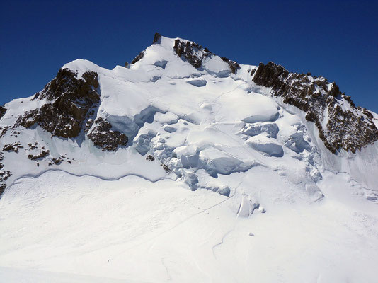 Col Maudit vor Mont Maudit