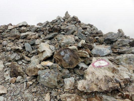 Am Gipfel des Sass Queder - 3066 M