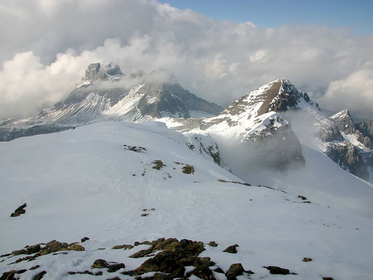 Gipfelblick zum Engelb. Rotstock