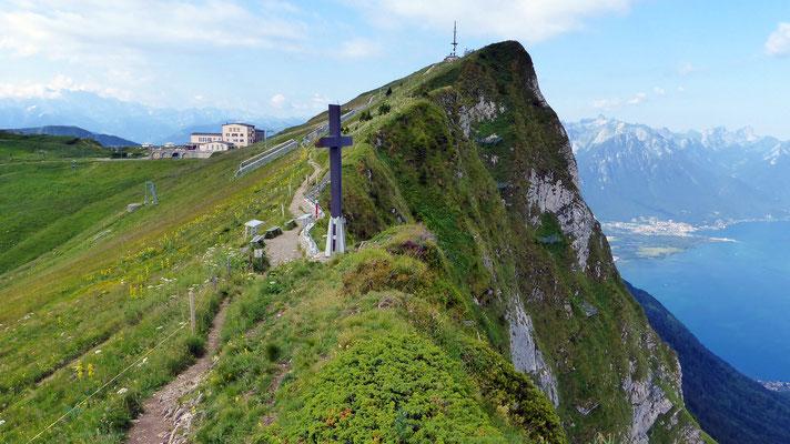 Rochers de Naye-Gipfel - 2042 M