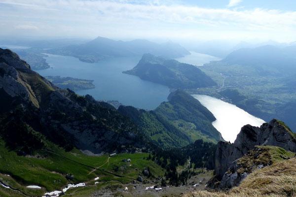 Gipfelblick - Vierwaldstättersee