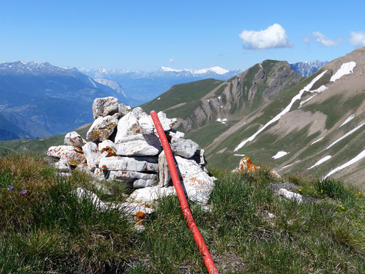 Sewjihorn-Gipfel - 2733 M