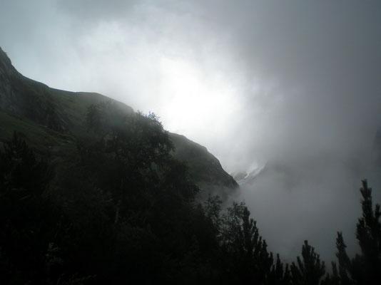 Regen - Nebel - Wind