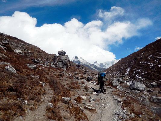 Aufstieg - Vor Island Peak