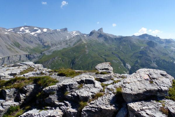 Gipfelblick: Tour de Mayen - Tour d'Ai
