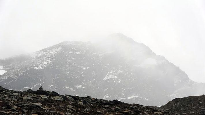 Fanellhorn im Nebelkleid