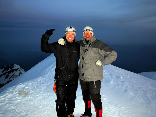 Am Gipfel - Morten & HP