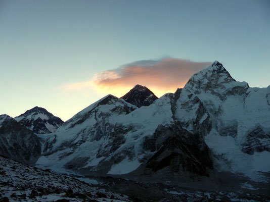 Changtse - Westschulter - Everest - Nuptse