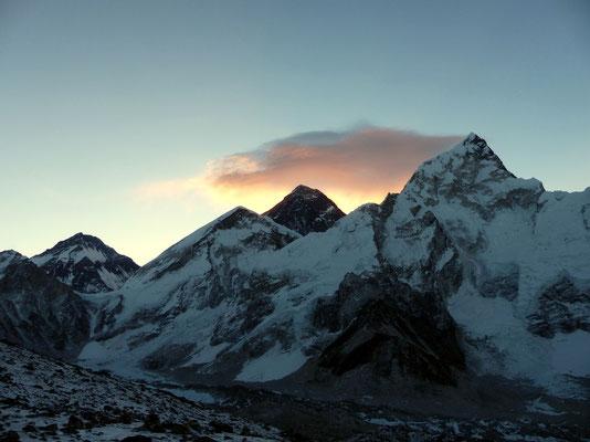Changtse - Westschulter - Everest - Nuptse