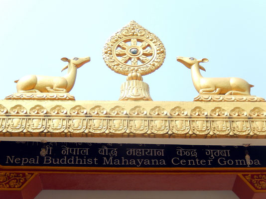 Eingang zum Mahayana Center