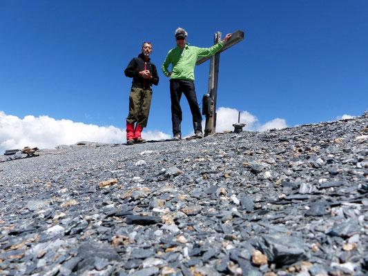 Am Gipfel des Piz Sardona - 3056 M