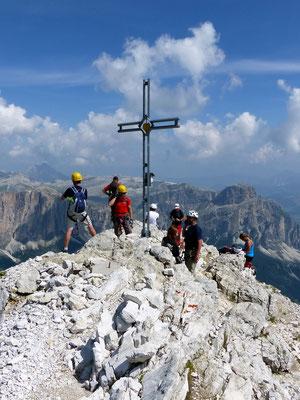 Am Gipfel des Boèseekofel - 2911 M