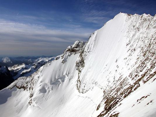 Nordwand der Lenzspitze - 4294 M