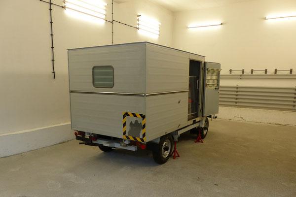 Wagen für Häftlingstransporte