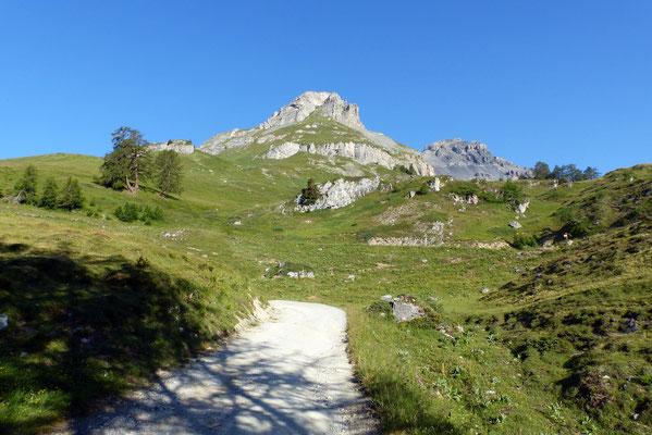 Petit Mont Bonvin - von der Alp Colombire