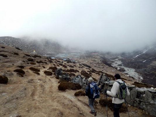 Ankunft in Dingboche - 4340 M