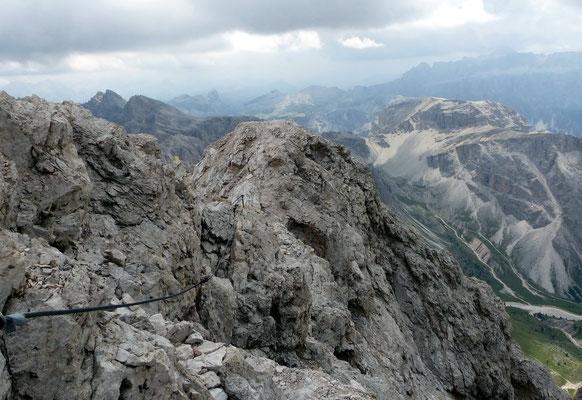 Quergang am Gipfel