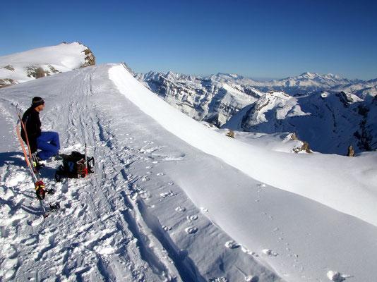 Aussichtsbalkon - Ca. 3200 m