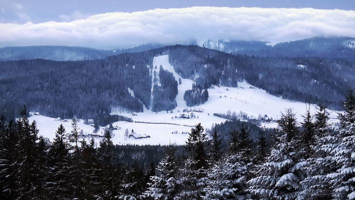 Windeckkopf, 1209 m - Blick von der Fürsatzhöhe
