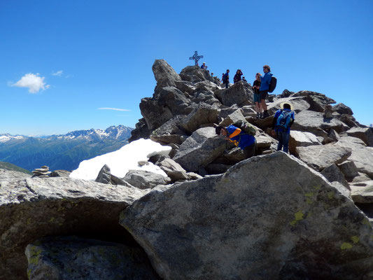 Am Gipfel des Eggishorn - 2927 M