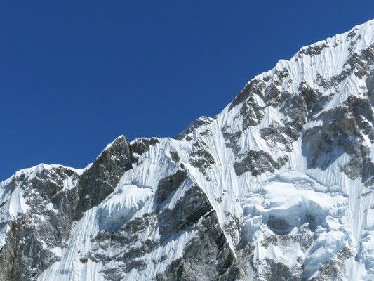 Erster Blick auf Mount Everest