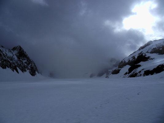 Auf dem Glacier Blanc