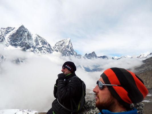 Akklimatisieren am Gipfel