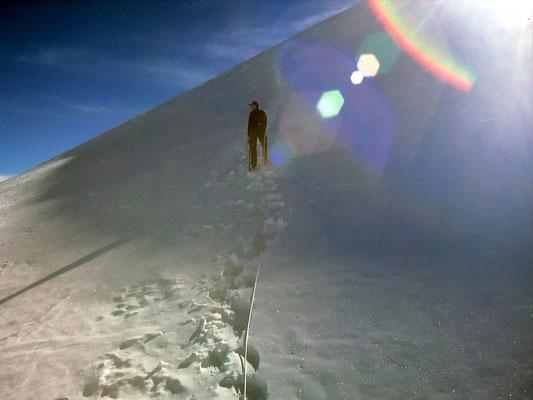 Steile Querung - La Serpentine
