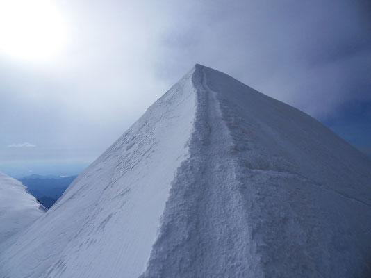 Gipfelgrat der Ludwigshöhe