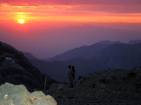 Sonnenuntergang überm Alpstein