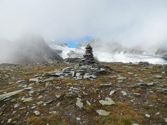Am Gipfel des Schwarzbergchopf - 2868 M