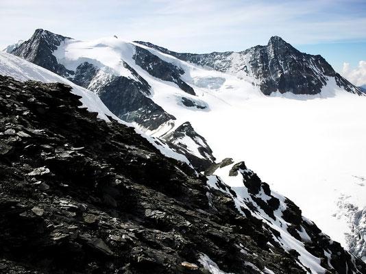 Aufstiegsroute - Von P.3444