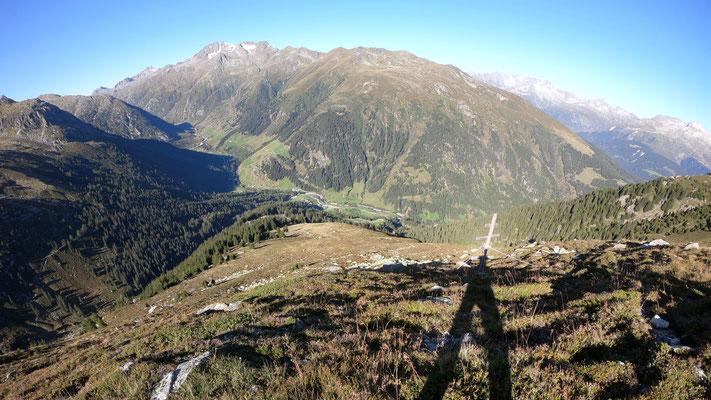 Blick zurück - Val Medel