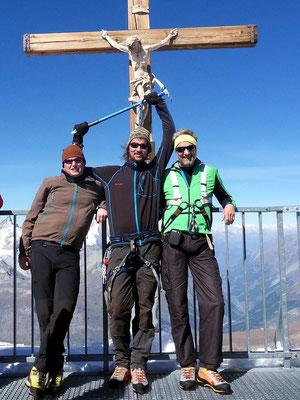 Klein Matterhorn-Gipfel