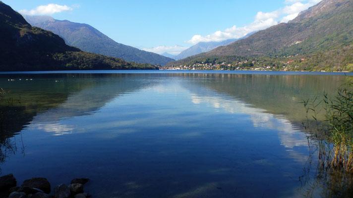 Blick vom Ostufer nach Mergozzo