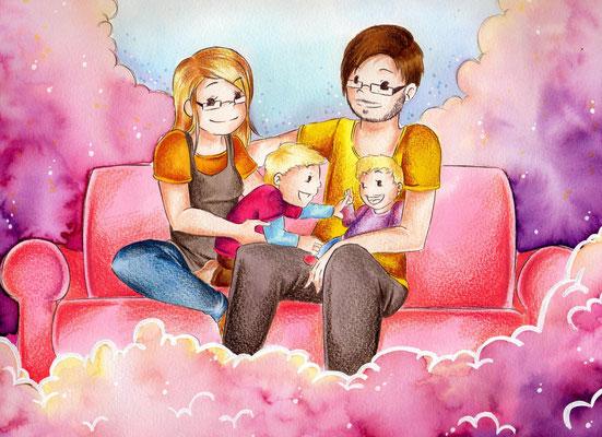 Illustration von Kinderbuchillustrationen für Kinderbücher