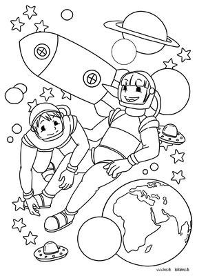 Illustration von Ausmalbildern für Malbücher