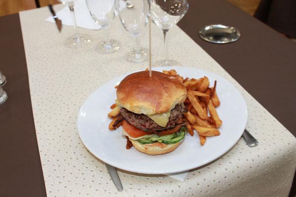 Hamburger 180gr de steack Charolais
