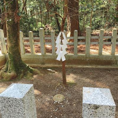 鹿島神宮要石(頭)