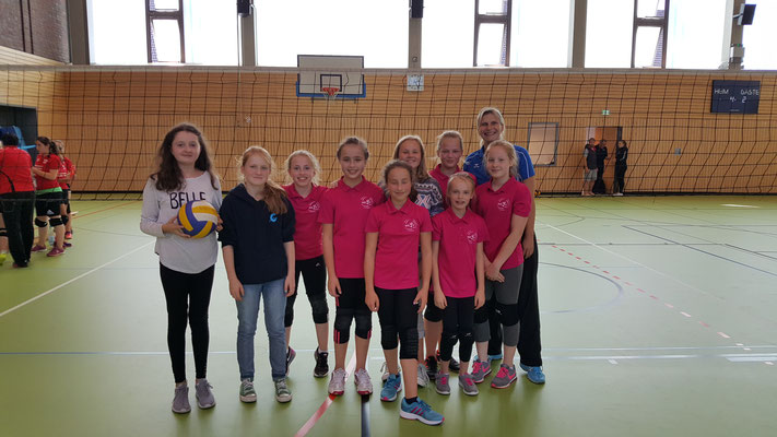 Das Team U14 September 2016