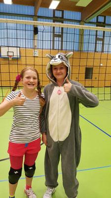 Pippi Langstrumpf und Eselsdame