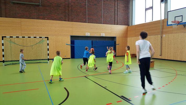 Basketball im Miniformat