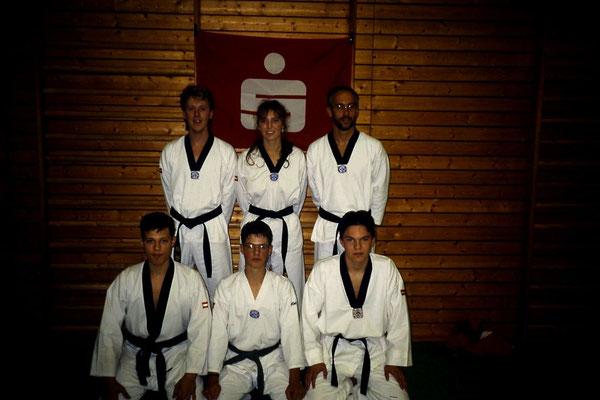 die 6 köpfige Kampfmannschaft vor dem Turnier
