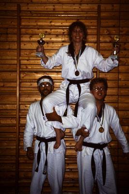 ...erobern mehrere Medaillen