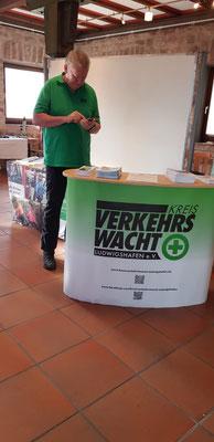 Dieter Lauerbach beim Einstellen in Instagram (vor der Veranstaltung)