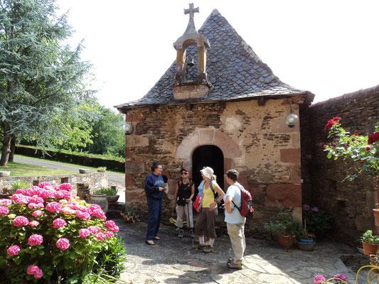 Chapelle autour de Conques en Aveyron