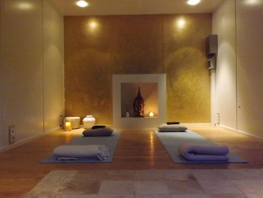 Komfortmodell als Yogaraum